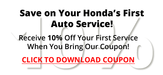 Save on Your Honda's First Auto Service!